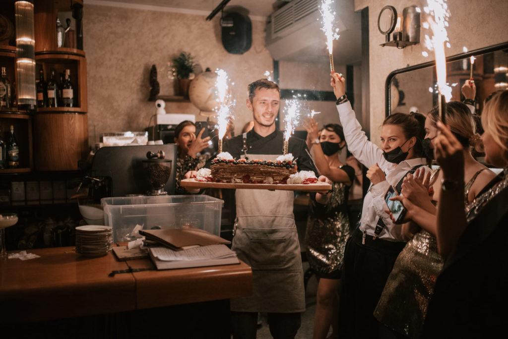 День Рождения M&M на Маяковской
